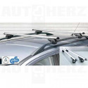 Střešní nosič - příčníky 120cm Menabo Brio uzamykatelné aluminium