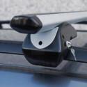 Střešní nosič - příčníky 120cm Menabo Dozer uzamykatelné aluminium