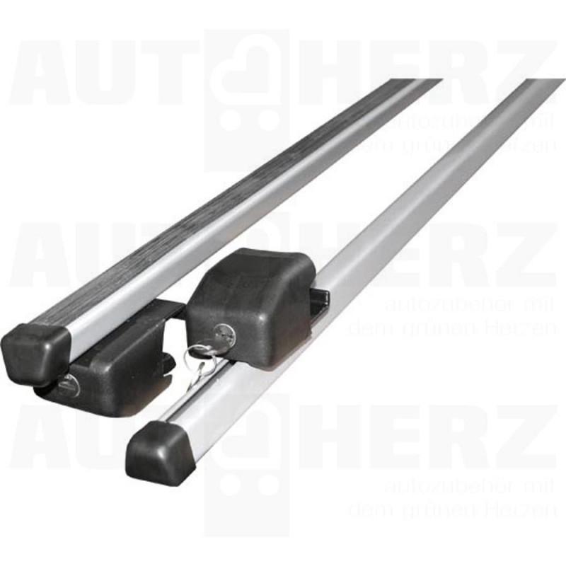 Střešní nosič - příčníky 115cm stříbrné uzamykatelné