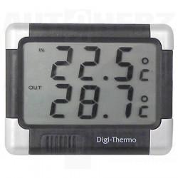 Teploměr digitální - vnitřní a venkovní teplota