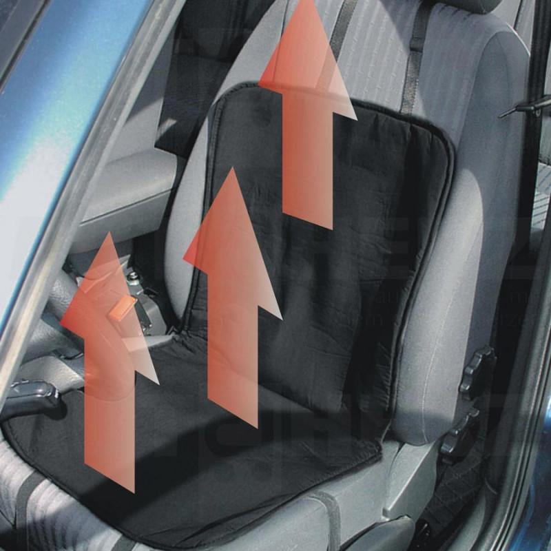 Potah sedadla vyhřívaný 12V prošívaný
