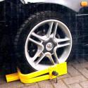 Zámek na auto a přívěs / karavan botička 13-15 palců - trojramenný