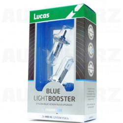Autožárovky 12V H1 55W - Lucas LightBooster Blue xenonový efekt 2ks