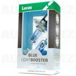 Autožárovky 12V H4 60/55W - Lucas LightBooster Blue xenonový efekt 2ks
