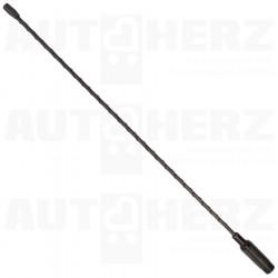 Anténní prut ocelový - 41cm s adaptéry