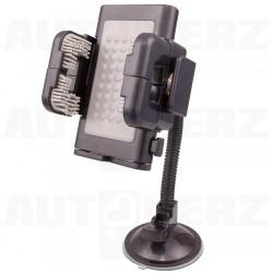 Držák na mobilní telefon / GPS navigaci s přísavkou dlouhý
