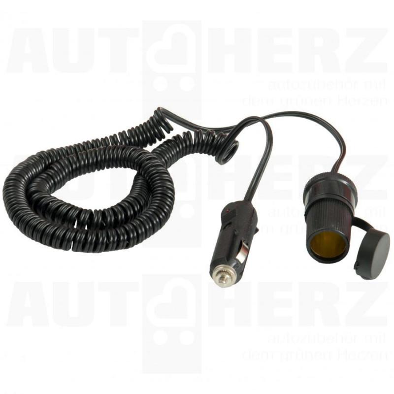 Kabel prodlužovací 12V do zapalovače 4m