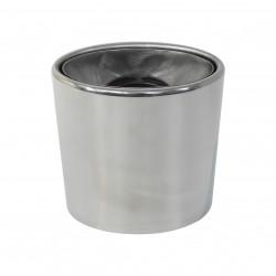 Koncovka výfuku chromová INOX 45-60 mm kulatá