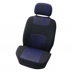 Potahy sedadel Classic černé/modré pro MPV 4ks
