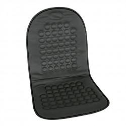 Potah sedadla masážní s magnety - černý
