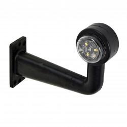 Poziční tykadlo LED červená/bílá 165mm L