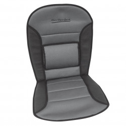 Podložka na sedadlo Comfort - černá / šedá