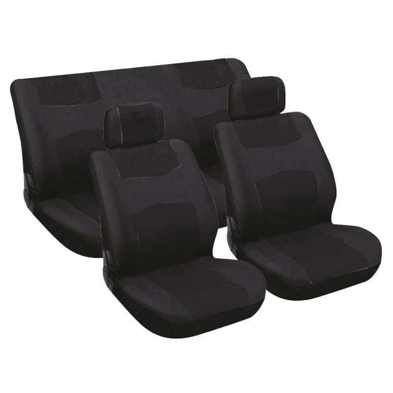 Potahy sedadel na celé vozidlo - černé