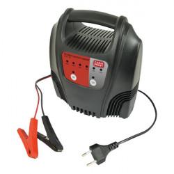 Nabíječka autobaterií 6/12V 12A - s LED měřičem nabití