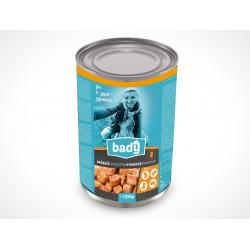 BADY konzerva drůbeží 1250g