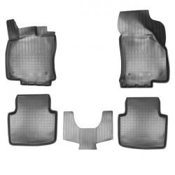 Gumové koberce Škoda Superb III 3D (2015)