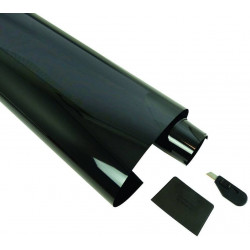 Folie na sklo 300x50 cm dark grey 5% SCRATCHPROOF