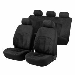 Potahy sedadel na celé vozidlo Velvet černý