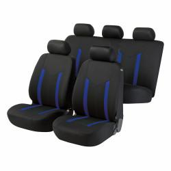 Potahy sedadel na celé vozidlo Hastings modré/černé