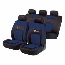 Potahy sedadel na celé vozidlo - RS Racing modré