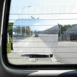 Lupa na zadní sklo vozidla