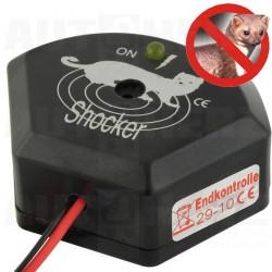 Plašič kun a drobných hlodavců 12V - s ochranou sluchu zvířat