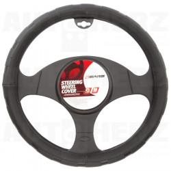 Potah volantu 37-39cm - černý