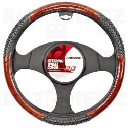 Potah volantu 37-39cm - imitace dřeva