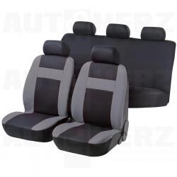 Potahy sedadel na celé vozidlo - Cruise šedé / černé
