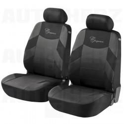 Potahy sedadel na celé vozidlo - Elegance šedé / černé